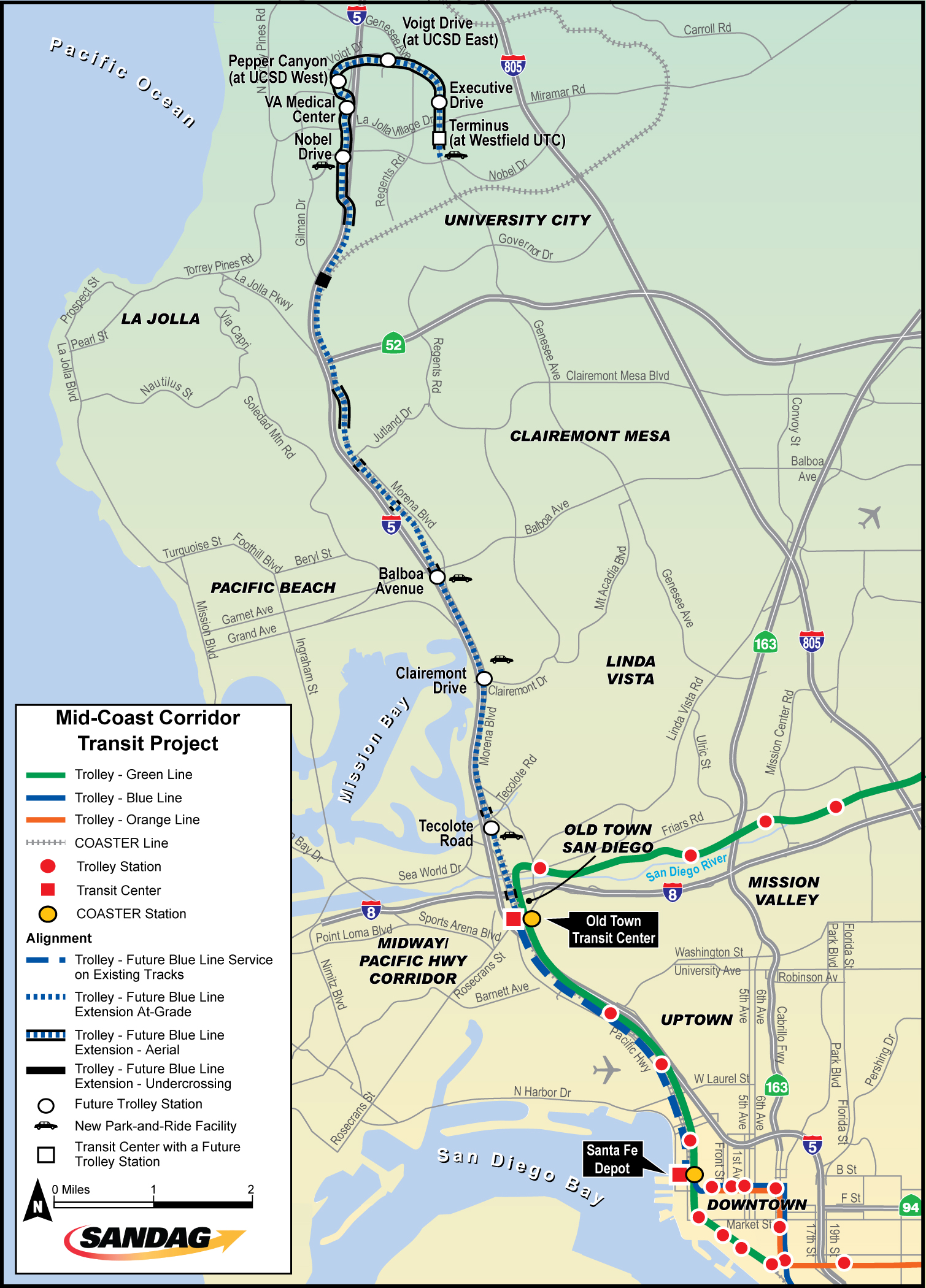 Sandag Projects San Diego S Regional Planning Agency